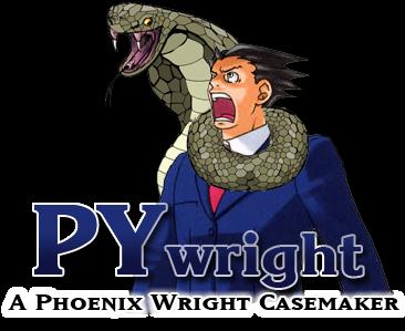 PYwright a Phoenix Wright casemaker